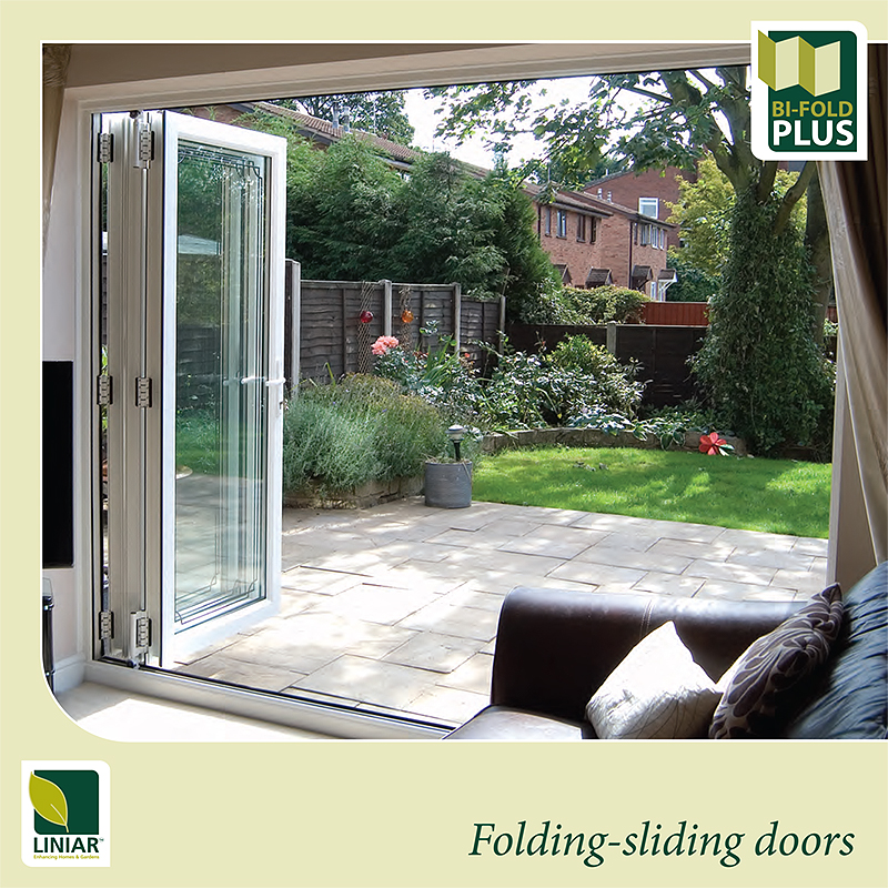 Bi Folds in Liniar PVCu Cover